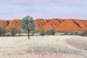 On the way to Uluru